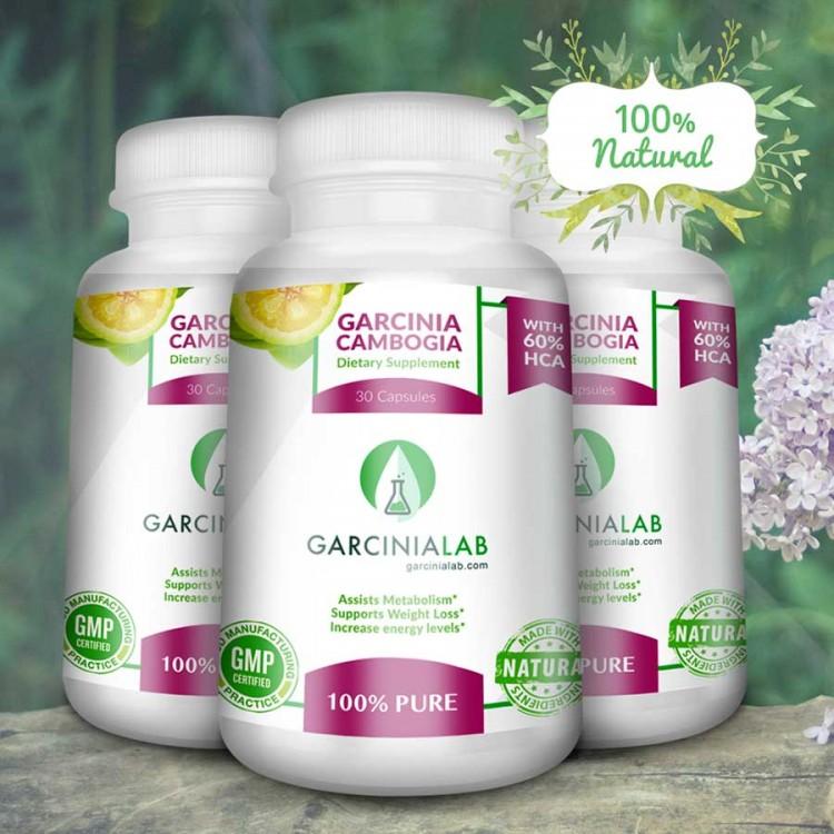 3 Pack   Garcinia Cambogia   60%