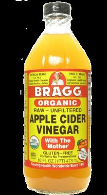 Bragg Usda Organic Raw Unfiltered Apple Cider Vinegar 16 Oz. With Mother